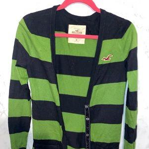 Striped Hollister cardigan